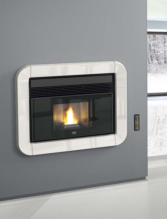 cheminee insert canalise 39 a granules pellet eva calor tommy 11 kw 190 m3 ebay. Black Bedroom Furniture Sets. Home Design Ideas