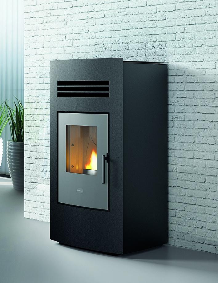 poele a granules pellet eva calor linda 13 kw ebay. Black Bedroom Furniture Sets. Home Design Ideas