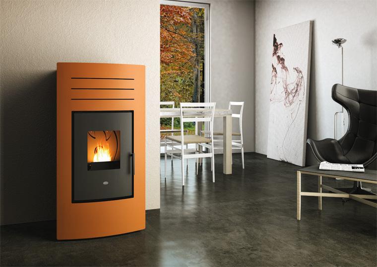 Termo stufa idro pellet 15kw eva calor hydro 15 poele - Riscaldare casa ...
